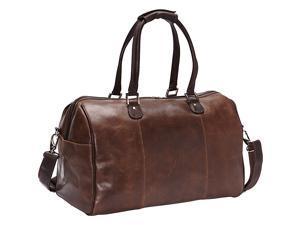 Piel Vintage Leather Carry-On Satchel