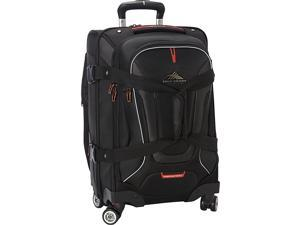 High Sierra AT7 Carry-on Spinner duffel with backpack straps