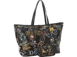 Sydney Love Bon Voyage Passport Print Large Tote