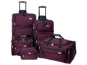 Samsonite 5-Piece Travel Set - Purple