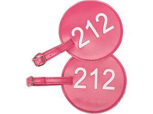 pb travel Leather Number Luggage Tag 212 - Set of 2