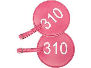 pb travel Leather Number Luggage Tag 310 - Set of 2