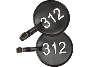 pb travel Leather Number Luggage Tag 312 - Set of 2