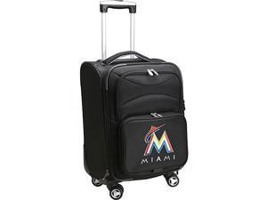 Denco Sports Luggage MLB Miami Marlins 20'' Domestic Carry-On Spinner