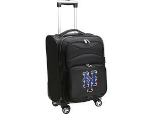 Denco Sports Luggage MLB New York Mets 20'' Domestic Carry-On Spinner