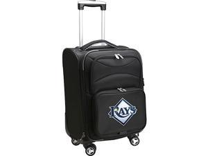 Denco Sports Luggage MLB Tampa Bay Devilrays 20'' Domestic Carry-On Spinner