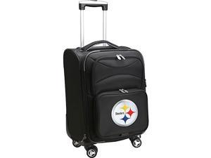 Denco Sports Luggage NFL Pittsburgh Steelers 20'' Domestic Carry-On Spinner