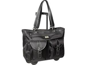 Clark & Mayfield Marquam 18.4in. Rolling Laptop Tote