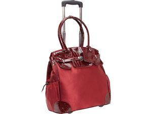 AmeriLeather Deluxe Skylar Women's Rolling Laptop Tote