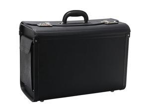 "Catalog Case w/ 2 Brass Combo Lock 20""x9""x14"" Black"