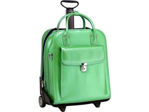 McKlein USA W Series La Grange Leather Vertical Detachable-Wheeled Ladies' Briefcase