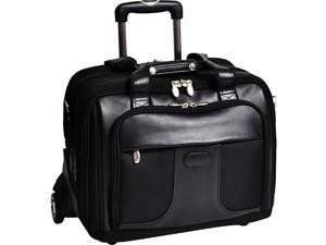 McKlein USA Chicago Nylon Wheeled 17in. Laptop Case