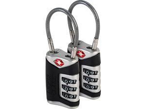 Lewis N. Clark TSA Sentry® Cable Lock - 2 Pack