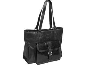 Clark & Mayfield Stafford Vintage Leather Laptop Tote 17.3in.