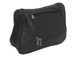 Piel Leather Hanging Utility Kit, Black - 2881-BLK