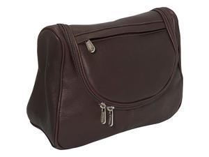 Piel Leather Hanging Utility Kit, Chocolate - 2881-CHC
