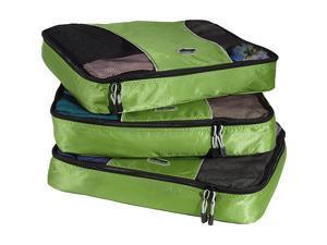 eBags Large Packing Cubes (3Pcs Set) - Grasshopper