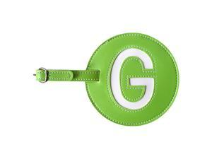 pb travel Leather Initial 'G' Luggage Tag Set of 2