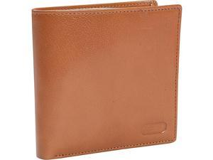 Leatherbay Double Fold Wallet w/Coin Pocket