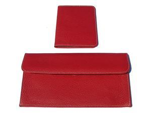 pb travel Luxury Leather Travel Pouch and Passport Cover
