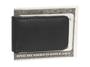 Royce Leather Classic Magnetic Money Clip, Black - 810-BLACK-5
