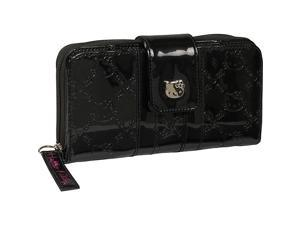 Loungefly Hello Kitty Black Patent Embossed Wallet