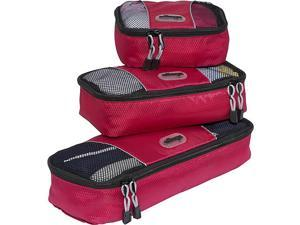 eBags Slim Packing Cubes (3PC Set) - Red