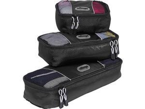 eBags Slim Packing Cubes (3Pcs Set) - Black