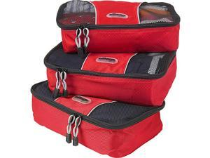eBags Small Packing Cubes (3Pcs Set) - Raspberry