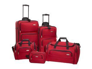 Samsonite 5-Piece Travel Set -  Red