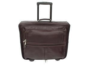 Piel Garment Bag on Wheels
