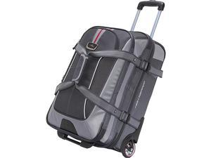 High Sierra AT6 Carry On Expandable Wheeled Duffel with Backpack Straps
