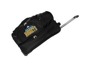 Denco Sports Luggage NBA Denver Nuggets 27in. Rolling Drop Bottom Duffel