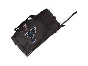 Denco Sports Luggage NHL St. Louis Blues 27in. Rolling Duffel