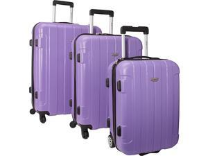 Traveler's Choice Rome 3-Piece Hardshell Spinner/Rolling Luggage Set