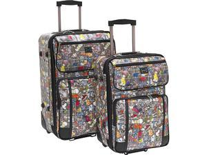 Sydney Love Diva Dogs-2pc Luggage Set