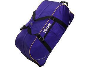 Athalon Minnesota Vikings NFL 35in. Wheeling Duffel Bag