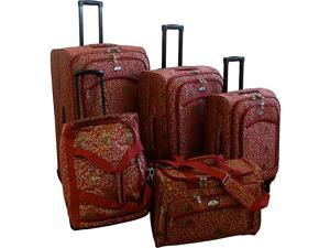 American Flyer Budapest 5-pc Spinners Luggage Set