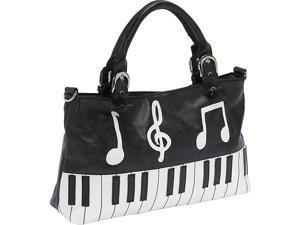 Ashley M Piano Keyboard Handbag