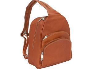 Piel Three-Pocket Sling Bag