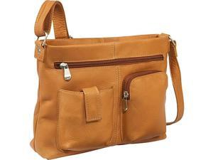 Le Donne Leather Two Pocket Crossbody