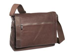 Kenneth Cole Reaction Busi-Mess Essentials - Colombian Leather Messenger Bag
