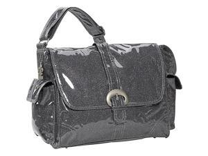 Kalencom Crystals Laminated Buckle Bag