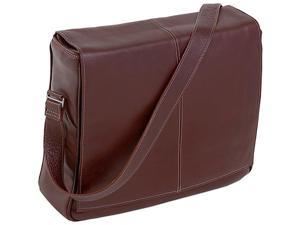 Siamod Vernazza Collection San Francesco Leather Messenger Bag