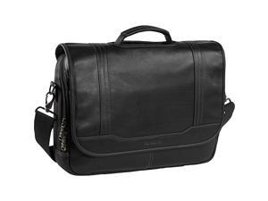 Samsonite Colombian Leather Flapover 15.6in. Laptop Briefcase