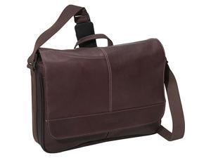 Kenneth Cole Reaction Risky Business - Colombian Leather Flapover Messenger Bag - Brown