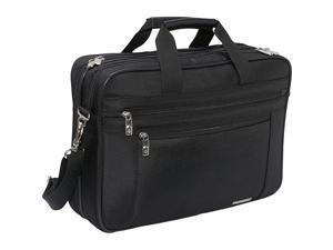 Classic Perfect Fit Laptop Case 16 1/2 x 4 1/2 x 12 Nylon Black