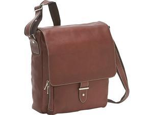 Bellino Columbia Vertical Laptop Messenger