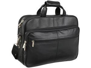 AmeriLeather Genuine Laptop Softside Briefcase