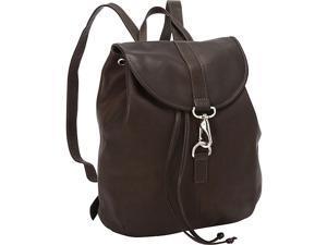 Piel Medium Drawstring Backpack